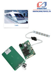 China RFID Gemotoriseerde Hybride Kaartlezer met USB-Interface, Magnetische IC-Kaartlezer fabriek